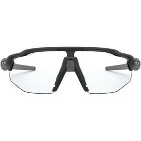 Oakley Radar EV Advancer Occhiali da sole, matte black/clear-black photochromic